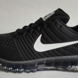 Adidasi Nike Air Max Barbati 2017 Negru Alb - Adidasi barbati Nike, Marime: 40, 41, 42, 43, 44, Culoare: Din imagine, Textil