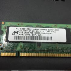 Memorie 4 GB DDR2 pentru laptop - Memorie RAM laptop HP