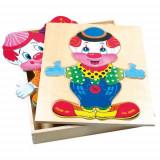 Puzzle Din Lemn Imbraca-L Pe Fredo