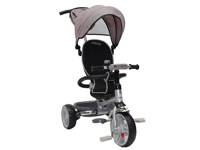 Tricicleta Copii Byox Flexy Bej foto mare