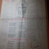Ziarul humorul 9 decembrie 1945-ziar de satira si umor