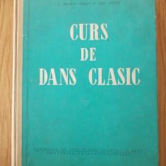 CURS DE DANS CLASIC- GONDA, MATEI- cu numeroase figuri - Carte Arta dansului