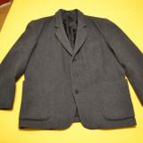 Sacou si vesta barbati 72% lana / HAINA si vesta mar. XL - ASCO - Costum barbati, Marime: 54, Culoare: Din imagine, 3 nasturi, Marime sacou: 54, Normal