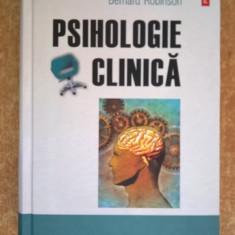 Bernard Robinson - Psihologie clinica - Carte Psihologie