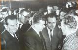 Ceausescu intr-o vizita de lucru , anii 65