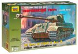 + Macheta 1/35 Zvezda 3616 - Pz.Kpfw.VI Ausf.B Tiger II Porsche Turret +