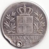 Regatul Greciei - 1 Drachma 1834 - Argint, Europa