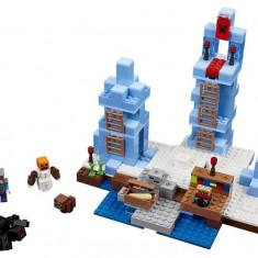 Lego® Minecraft Crampoanele De Gheata - 21131