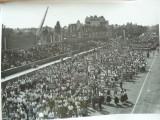Gheorghiu Dej , vizita oficiala si defilare , 2 fotografii