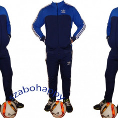 Trening Adidas pentru barbati.Model Slim-Fit. - Trening barbati Adidas, Marime: M, XL, Culoare: Albastru, Poliester