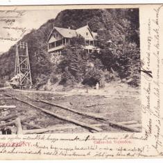 Petrosani, Petrozseny Gabor-lak Vojvodon carte postala clasica circulata, RARA - Carte Postala Transilvania 1904-1918, Printata