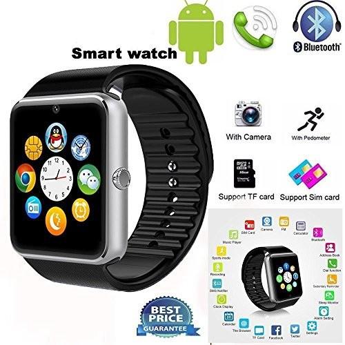 Smartwatch Ceas inteligent GT08 cu SIM,SD card,Camera,Bluetooth - Noi La Cutie. foto mare