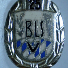 I.033 INSIGNA GERMANIA STICKPIN BAVARIA BLSV BAYERISCHER LANDESSPORTVERBAND, Europa