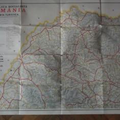 HARTA MARAMURES TURISTICA RSR - Harta Turistica