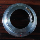 Inel adaptor M42 canon eos cu chip EMF programabil.