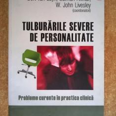 Bert van Luyn - Tulburarile severe de personalitate - Carte Psihologie