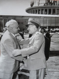 Gheorghiu Dej ; Doua vizite oficiale , 2 fotografii