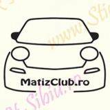 Matiz Club_Tuning Auto_Cod: CST-468_Dim: 15 cm. x 11 cm.