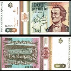 1000 LEI 1993 UNC NECIRCULATA