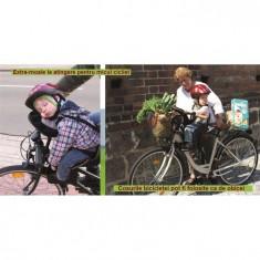 Scaun De Bicicleta Deluxe Cu Bara Suplimentara Weeride - Accesoriu Bicicleta