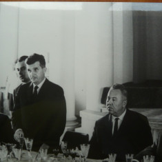 Nicolae Ceausescu si Gheorghiu Dej , anii 60