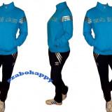 Trening Adidas dama. - Trening dama, Marime: M, L, Culoare: Turcoaz, Bumbac