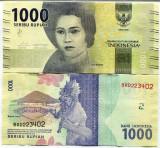 INDONEZIA- 1000 RUPIAH 2016(2017)- NEW- UNC!!