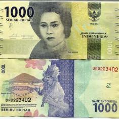 INDONEZIA- 1000 RUPIAH 2016(2017)- NEW- UNC!! - bancnota asia