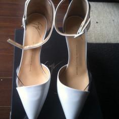 Pantofi ALBI, GIUSEPPE ZANOTTI, NOI, MARIMEA 37 - Pantof dama