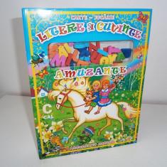 Carte-jucarie, Litere si cuvinte amuzante, copii peste 3 ani! - Jocuri Litere si Cifre Altele