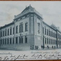 Caransebes , Centrul , circulatie austro - ungara , 1899 , clasica, Circulata, Printata