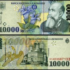 10000 LEI 1999 UNC NECIRCULATA
