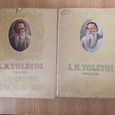 TOLSTOI- POVESTIRI, TEATRU- format mare, cu ilustratii - Carte Antologie