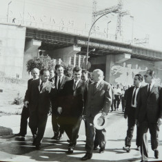 Nicolae Ceausescu la Moscova , anii 65 , 2 fotografii