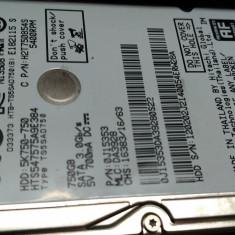 HDD LAPTOP 750GB HITACHI CU DEFECT