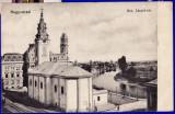 Oradea,Nagyvarad piata Sz Laszlo-ter CP perfecta circulata in 1913, Printata