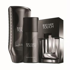 Set Black Suede Touch (apa toaleta 75 ml, deodorant, gel dus) AVON - Parfum barbati Avon, Apa de toaleta, Oriental