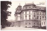 Oradea tribunalul,Nagyvarad Igazsagugyi palota ilustrata perfecta circulata 1917, Printata