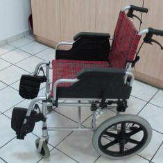Scaun cu Rotile LIGHT - GIMA, pliabil, pentru dizabilitati.
