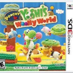 Poochy And Yoshi's Wooly World Nintendo 3Ds - Jocuri Nintendo 3DS, Actiune, Toate varstele, Single player