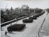 Gheorghiu Dej si defilare militara in Capitala , 2 foto