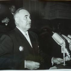 Cuvantare oficiala a lui Gheorghe Gheorghiu Dej - Autograf