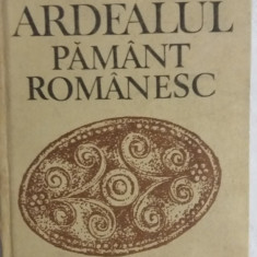 MCCG - MILTON G LEHER - ARDEALUL PAMANT ROMANESC - ED 1989