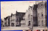 Oradea Gara,Nagyvarad Indohaz carte postala circulata in 1916, Printata
