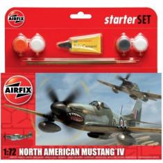 Kit Constructie Avion Mustang P51 - Set de constructie Airfix
