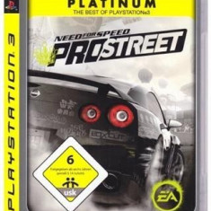 Need For Speed Prostreet Ps3 - Jocuri PS3 Electronic Arts, Curse auto-moto, 12+