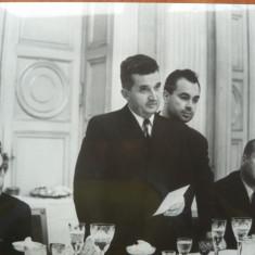 Nicolae Ceausescu la un dineu oficial , anii 60