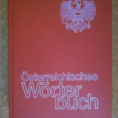 Osterreichisches Worterbuch {1979}
