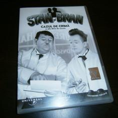 DVD Stan si Bran-Cazul de crima si alte 5 filme de succes! - Film comedie universal pictures, Romana