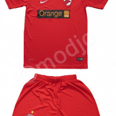 Echipament COMPLEU Sort Tricou FOTBAL FC DINAMO Bucuresti pt copii 4-14 ani